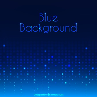 Bright blue dots background