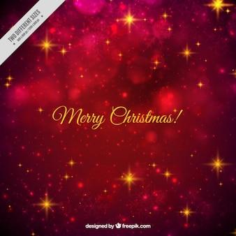 Bright bokeh merry christmas background