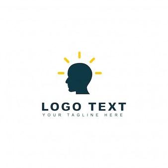 Bright brain logo