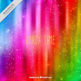 Bright colorful party background