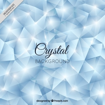 Bright crystal background