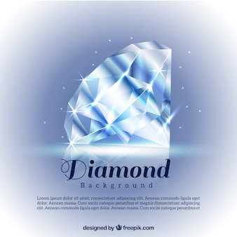 Bright diamond background