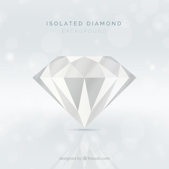 Bright diamond background