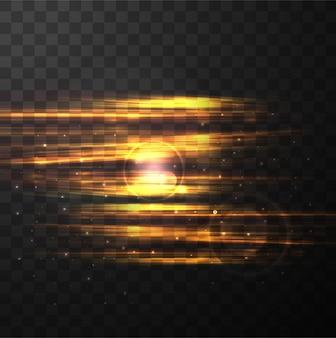 現代のライトの背景