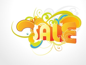 Bright modern sale design