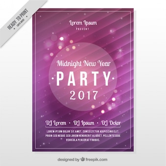 Bright party brochure of 2017