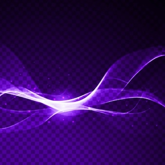 Bright purple wavy background