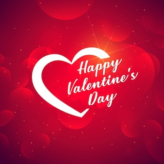 Bright red background for valentine
