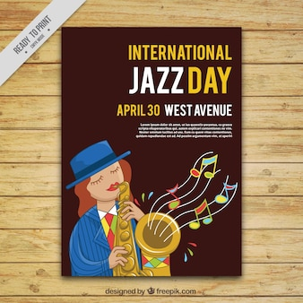 Brochure of the international jazz day