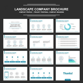 Brochure presentation design