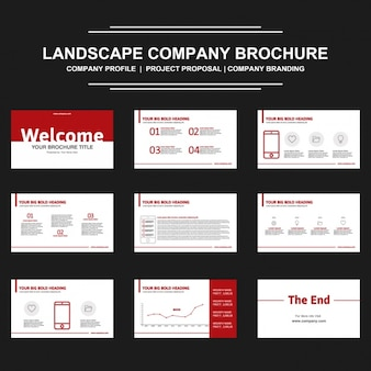 Brochure presentation design