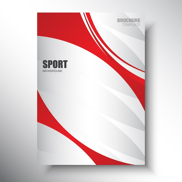 Brochure Red Vectors, Photos and PSD files | Free Download