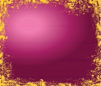 Broken texturelines on magenta background