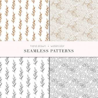 Bronze and gold patterns