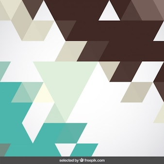 Brown and mint geometric background