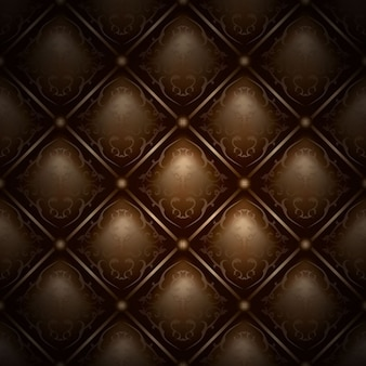 Brown leather upholstery background