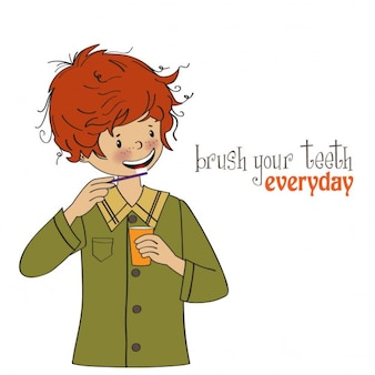 Brush your teeth every day