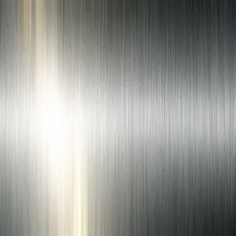 Brushed metallic background