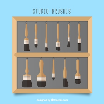 Brushes pack of different type