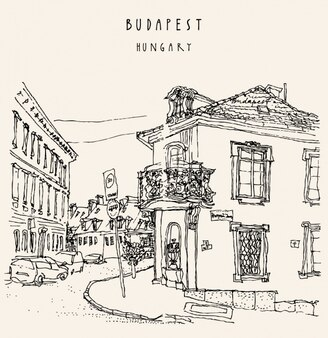Budapest background design