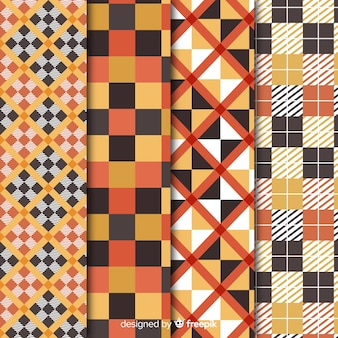 Buffalo pattern collection wallpaper