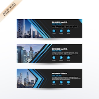 Business banners collection