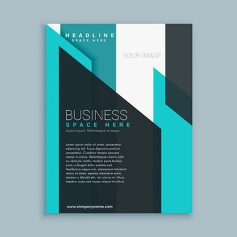 Business brochure template presentation