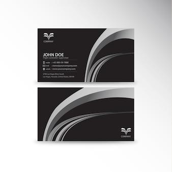 Business card template design