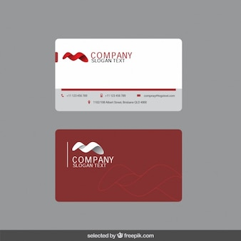 Business card with 3d shape