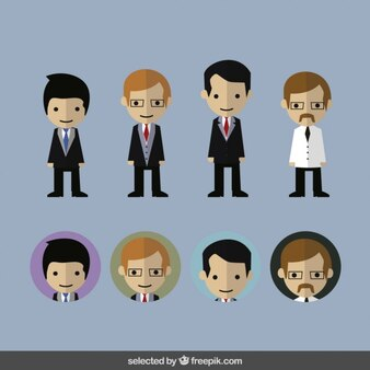 Business character collection