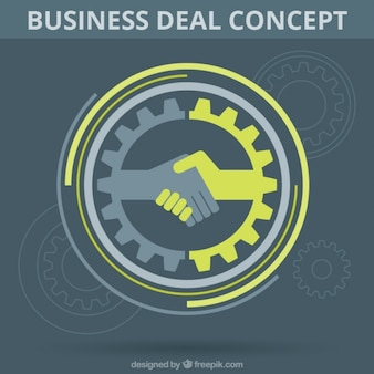 Business deal symbol