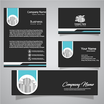 Business documents template