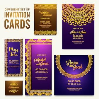 Business groom purple love template