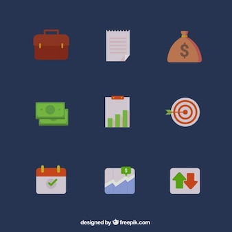 Business icons pack