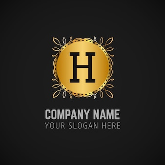 Business logo and slogan background