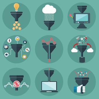 Business machine designs