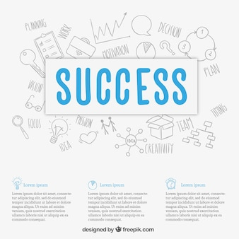 Business success background