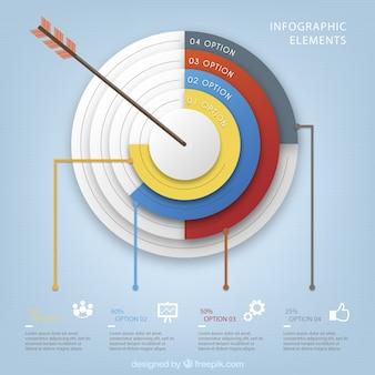 ビジネスターゲットインフォグラフィック