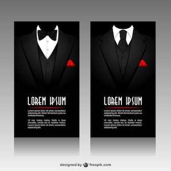 Businessman banners