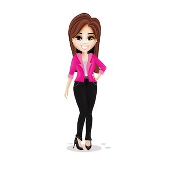 Businesswoman character design