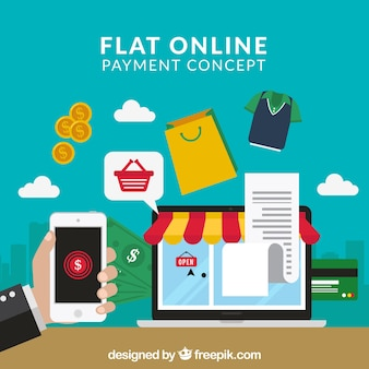 Buy online using mobile