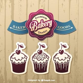 Cake label designs