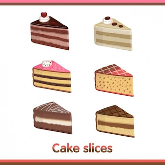 Cake Pieces Collection