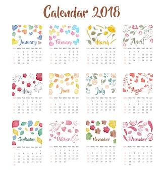 Cute School Timetable Vector Free Download
