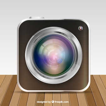 Camera app button
