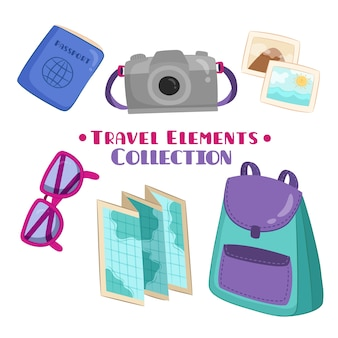 Camera with other travel elements