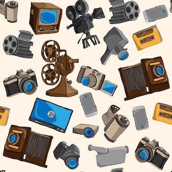 Cameras pattern design