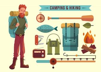 キャンプの要素コレクション