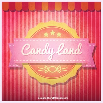 Candy land badge