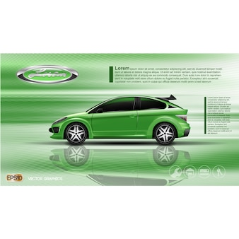 Car vectors photos and psd files free download for Car brochure template